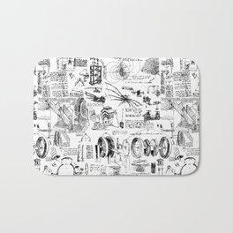 Da Vinci's Sketchbook Bath Mat