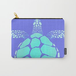 Ocean Blue Turtle Carry-All Pouch