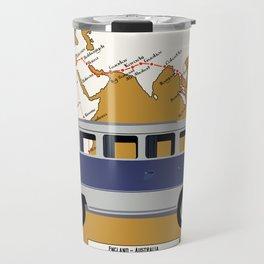Route Map Travel Mug