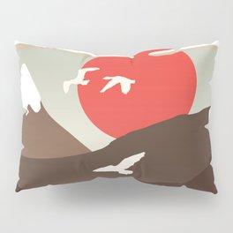 Swan Migration Pillow Sham