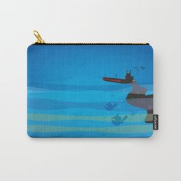 go humans! Carry-All Pouch