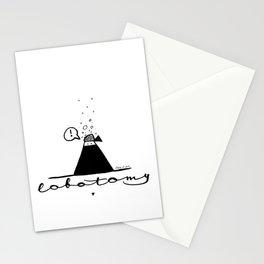 Lobotomy of a ninja Stationery Cards