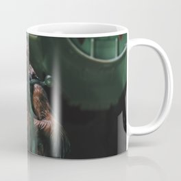 Hokey religions and ancient weapons are no match for a good blaster at your side Coffee Mug