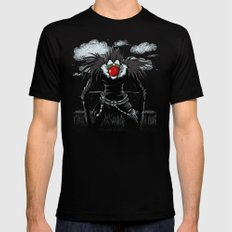 Ryuk Magritte X-LARGE Black Mens Fitted Tee