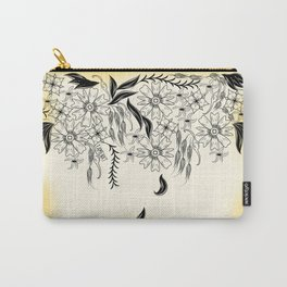 Hanging Floral Carry-All Pouch