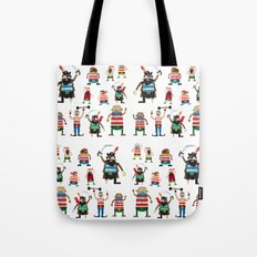 Pirates made of paper Tote Bag