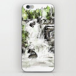 Abstract falls iPhone Skin