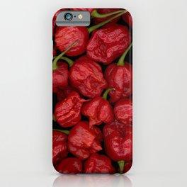 Pepper Head Pattern iPhone Case