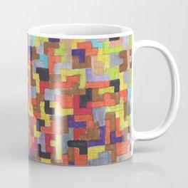 Warm Blocks Cloud Coffee Mug