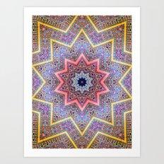 Mandala Faaa Raaa Oooon  Art Print