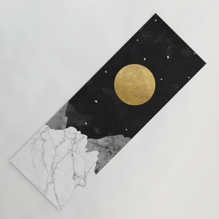 Moon And Stars Yoga Mat by Society6