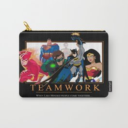 """INK-SPIRATION: """"Teamwork"""" 3 Carry-All Pouch"""