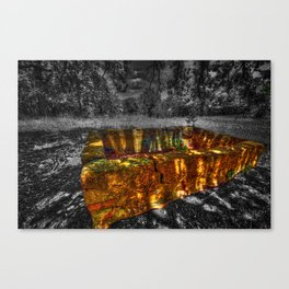 The Water Trough Canvas Print