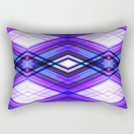Technologic  - Ultra Violet Minimal Geometric Abstract Rectangular Pillow