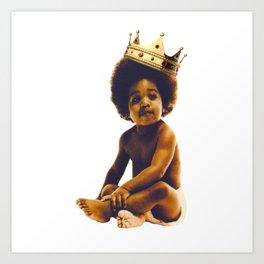 black life biggie Art Print
