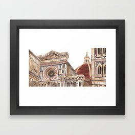 Florence Cathedral, Italy Framed Art Print