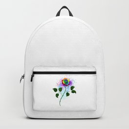 Rainbow Rose Backpack