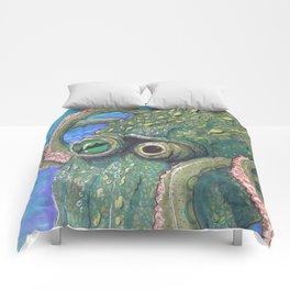 Green Octo Comforters