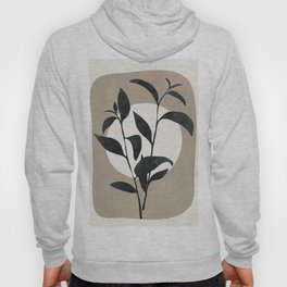 Abstract Minimal Plant Hoody