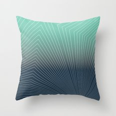 Projection Geox Throw Pillow