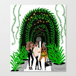 Black Models Canvas Print