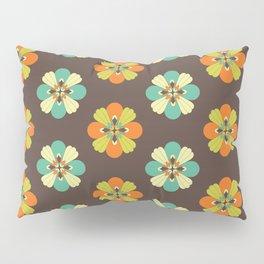 Retro Flower 301 Pillow Sham