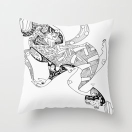 This Unit Is Empty Throw Pillow