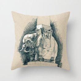Obelisco della Minerva Throw Pillow