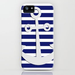 Hipster Sailing iPhone Case