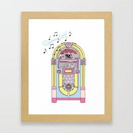 Summer Lovin' Jukebox  Framed Art Print