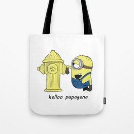hello papagena Tote Bag