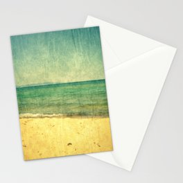 Seascape Vertical Abstract Stationery Cards