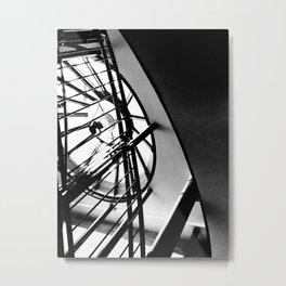 Spiralling Metal Print