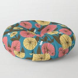 Memories of summer Floor Pillow