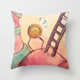 Tourbillon Throw Pillow