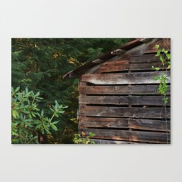 Wood shed Canvas Print