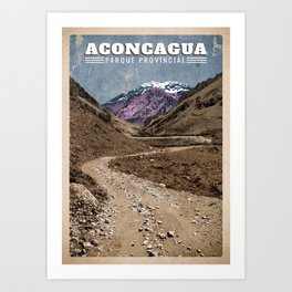 Aconcagua Art Print