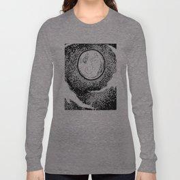 The Moon and Austrailia  Long Sleeve T-shirt