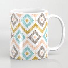 Sketchy Diamond IKAT Mug