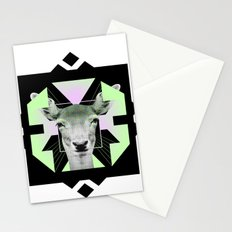 ::Space Deer:: Stationery Cards