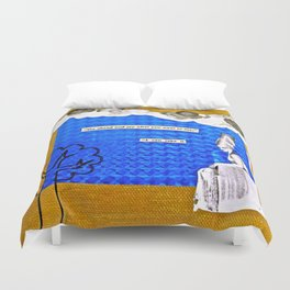 Go On and Say It Duvet Cover