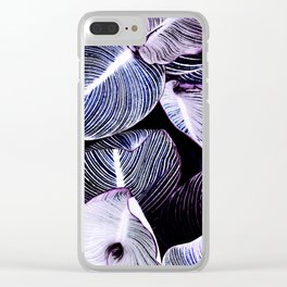 Unbridled - violet night Clear iPhone Case