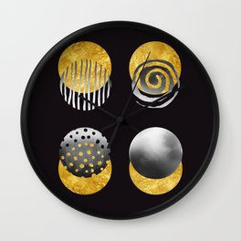 The Fifth Element. Abstract Art. Wall Clock