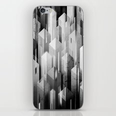 obelisk posture (monochrome series) iPhone & iPod Skin