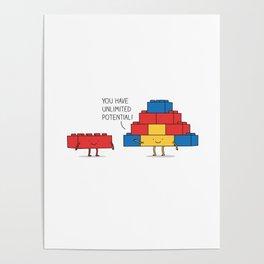 positive blocks... Poster