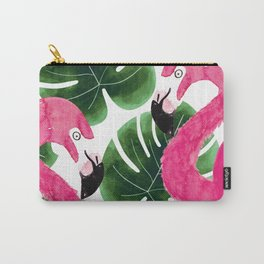 Flamingled Carry-All Pouch