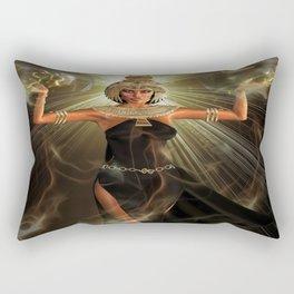 The Light Of Egypt Rectangular Pillow