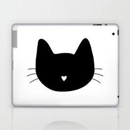 Cat Heart Nose Laptop & iPad Skin