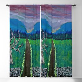 Mountain Drive Blackout Curtain