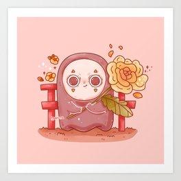 Shy Kao Ghost Art Print